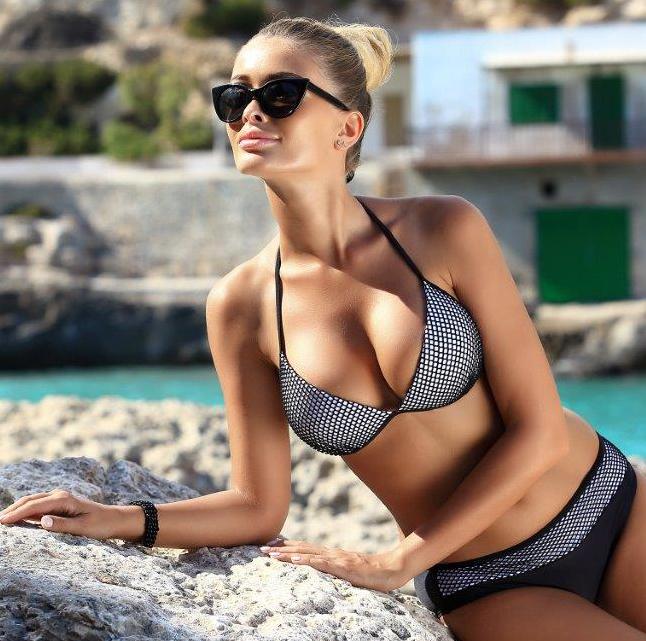 Plavky dámské KEL push-up - Effy ca1c022a3d
